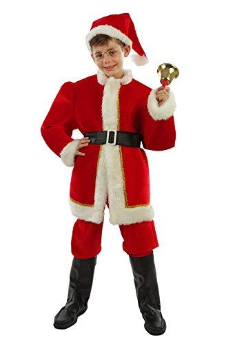 (Chiber Disfraces Kinder Jungen Weihnachtsmann Kostüm Deluxe (4-6 Jahre))