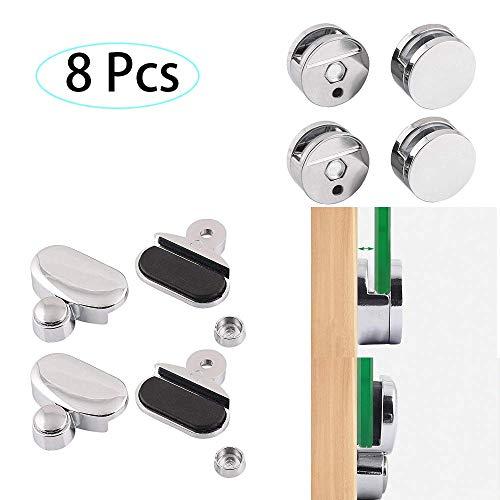 Abrazadera cristal espejo baño clip 8 piezas 2 especificaciones