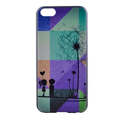 MOONCASE Etui pour iPhone 5C Hard House Case Coque Cover Étui Shell Mi02 Mi03 #1122