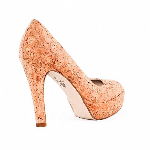 NAE Cork Pump - Damen Vegan Schuhe - 4