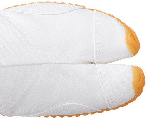 Chaussures de Ninja Jogging Jikatabi (12 Clips) Importe du Japon (Marugo) Blanc
