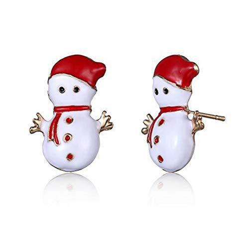 Shuda 1Par Mujer Pendientes Navidad Cuelgan Pendientes...