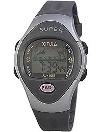 Xinjia Hombre Reloj digital Gris Plata