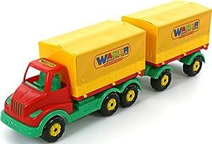 Polesie Polesie44075 Multitruck - Camión Remolque de Lona de Juguete