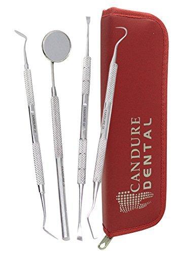 4-pezzi-dentistica-set-tartaro-calcolo-plaque-rimozione-di-dente-raschietto-specchio-dentale-scaler-