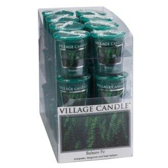 Village Candle bougie parfumée Mon Beau Sapin (Balsam Fir) - Votive 18h