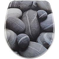 DIAQUA nice abattant wC avec système d'abaissement automatique slow-motion stones 40, 5–46 x 37,5 cm 31171203