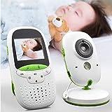 KBKB Baby Monitor Inalámbrico Audio Video Baby Electrónico Portátil Walkie Talkie Baby Foon Cámara