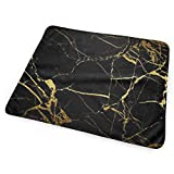 Bikofhd Changing Pad Gold Black Wallpaper Portable Diaper Changing Pad - for Baby Showers Changing Mats and Reusable Detachable Wipe Able Mat- Unisex