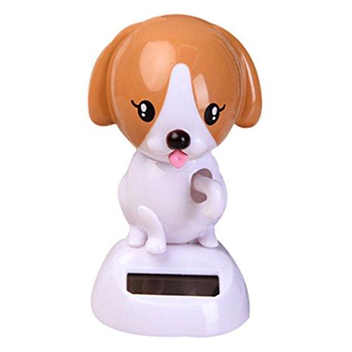 Bobblehead Hund, Fansport Bobblehead Spielzeug Lustig Solar Tanzendes Hundespielzeug für Auto Dekor