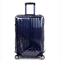 Gorgebuy Protective Cover - Clear PVC Suitcase Cover Protectors 20 22 24 26 28 30 Inch Luggage Cover for Wheeled Suitcase