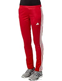 pantaloni adidas rossi