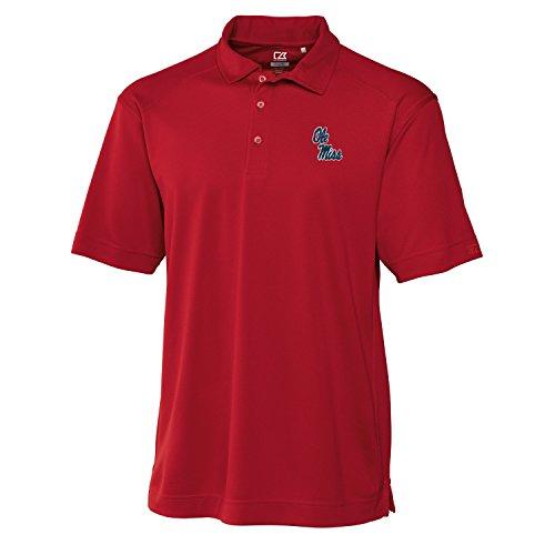 Cutter & Buck NCAA Herren Poloshirt Genre, Herren, CB DrytecTM Genre Polo, Kardinalrot, 3X-Large - Patagonia Herren Polo-shirt
