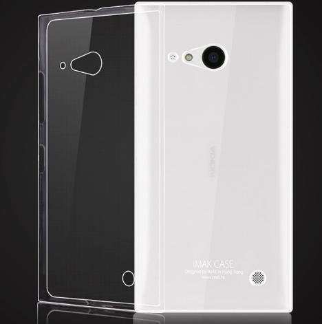 WOW Imagine(TM) Soft Jel Ultra Thin 0.3mm Clear Jel TPU Back Case Cover For NOKIA LUMIA 730 (Transparent)  available at amazon for Rs.169