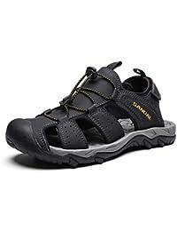 787db3fc5 Zapatillas Deportivas Hombre Sandalias Casual Trekking Zapatos de  Senderismo Montaña Playa Antideslizantes Chanclas…