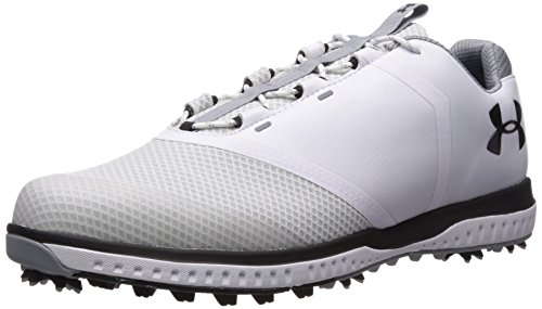 Under Armour UA Fade RST, Zapatos de Golf para Hombre, Blanco (White 100), 44/45 EU