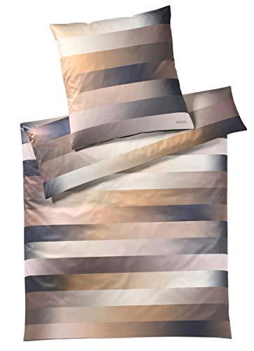 JOOP! Bettwäsche Flow l Größe 40x80 135x200 l Farbe Gold l Reine Baumwolle