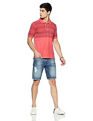 Breakbounce Men's Printed Slim Fit T-Shirt