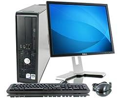 (Renewed) Dell Optiplex 380 Desktop (Core 2 Duo E7500/4 GB/320 GB HDD/Windows/MS Office/Intel GMA 4500), Black