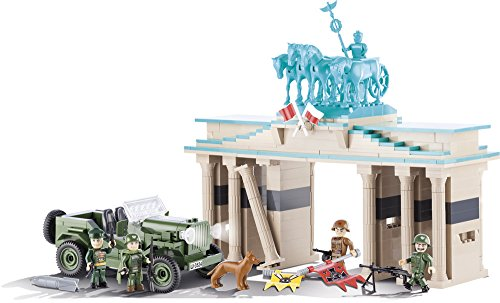 COBI 2463 – The Battle of Berlin, Konstruktionsspielzeug, grün/beige - 3