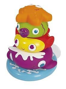 Simba Toys 104019678 ABC - Set de animales apilables para el baño