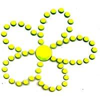 5.ZERO ® 1 Pieza diseño de brillantes Iron-On Hotfix Transferencia mm 35x35
