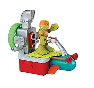 Giochi Preziosi - Figura de acción Michelangelo, Tortugas Ninja Héroes
