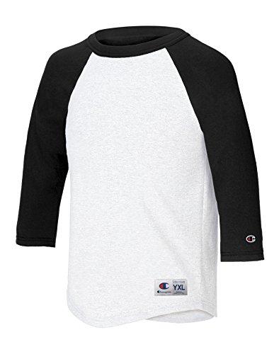 champion-t-shirt-manches-3-4-garcon-multicolore-x-large