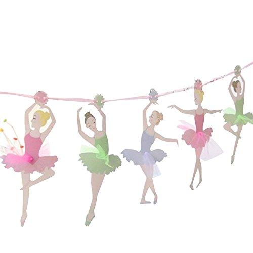 Momangel Arreglo De La Fiesta De CumpleañOs De Los NiñOs Bailarina Ballet...