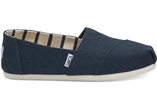 TOMS Classic Damen Schuhe Blau Damen Schuhe Glitter