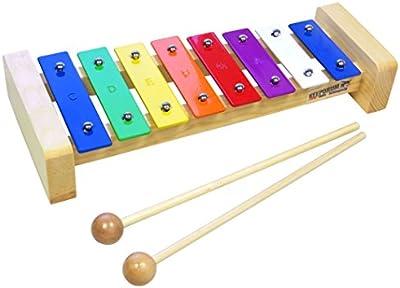 Keepdrum kgs Pro–Xilófono infantil de madera