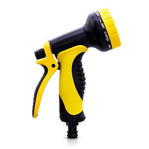 ZSLLO Multifunktions Garten Wasserpistole Für Bewässerung Rasenschlauch Spray Wasser Düse Pistole Auto Reinigung Hochwertige Kunststoff Wasserpistole Streuen Werkzeuge Sprinkler für Hof