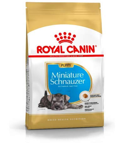 Maltbys' Stores 1904 Limited 3kg (2 x 1.5kg) Royal Canin MINIATURE SCHNAUZER PUPPY Breed Health Nutrition Dog food