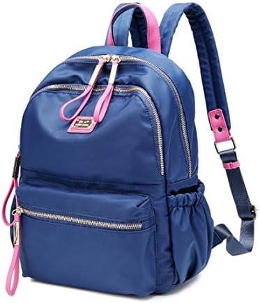 Igspfbjn Sac à Dos Sac à Dos école secondaire étudiant léger (Color : Blue)   Magasiner