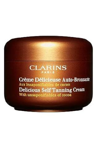 CLARINS Delicious self tanning cream, 125ml