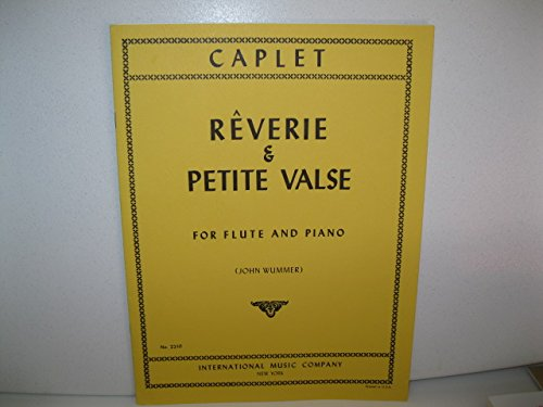 Reverie and Petite Valse for Flute and Piano (SS-210)
