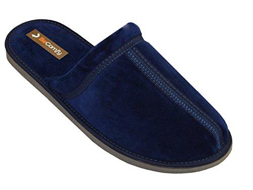 BeComfy-Zapatillas-pantuflas-de-estar-por-casa-de-algodn-para-hombre-confortables-ligeras-suaves-emparejado-MB52