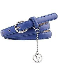Cinturones De Moda Mujer Cinturones Mujer Cuero Cinturones Mujer Vaqueros Cintura Fina Mujer AIMEE7 Cinturones De Mujer Para…