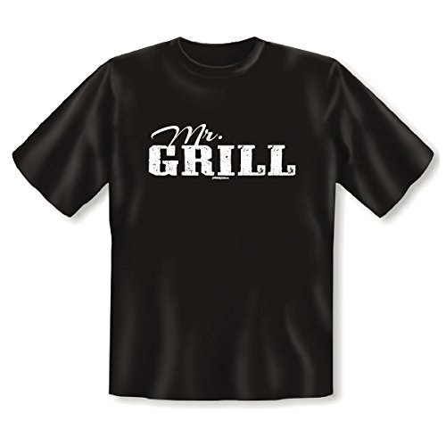 Perfektes T-Shirt für Grillprofis - Mr. Grill - Das Outfit für die nächste Grillparty! Cooles Geschenk!