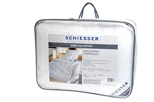 Schiesser ganzjahres Steppbett / Bettdecke / 135 x 200 cm / Allergiker geeignet / verschiedene Größen
