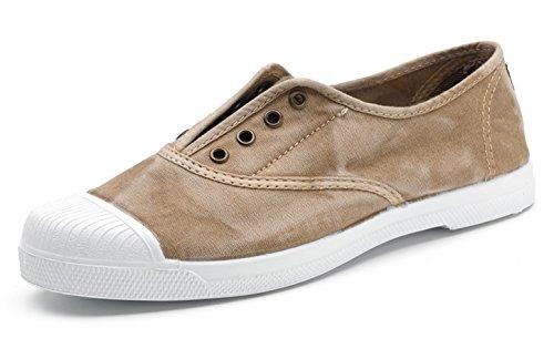 Natural World Eco – Chaussures Baskets VEGAN Tennis Tendance en Tissu pour femmes – Mode – NOUVEAUTÉ - Coloris variés 621