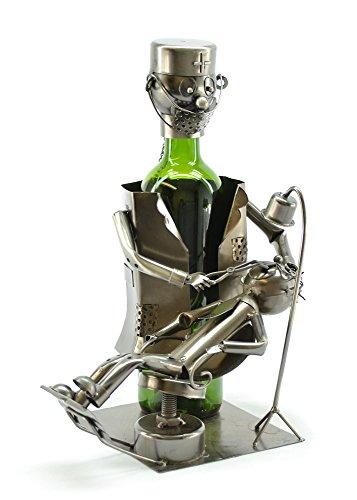 Dental Chirurg Zahnarzt Weinflaschenhalter aus Metall