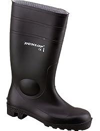 Dunlop Protomaster Full Safety Gummistiefel,Arbeitsstiefel,Regenstiefel,Gartenstiefel