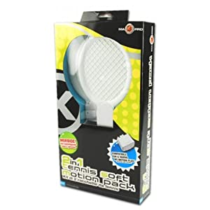 MAXPRO TENNIS SOFT MOTION PACK 2 IN 1 MAX PRO WII