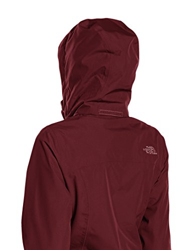 North Face Sangro Veste Imperméable Femme Rouge/Deep Garnet Red
