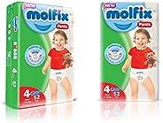 Molfix Anti Leakage Comfortable Maxi Baby Diaper Pants, 9-14 kg, 52 Count (5054276)