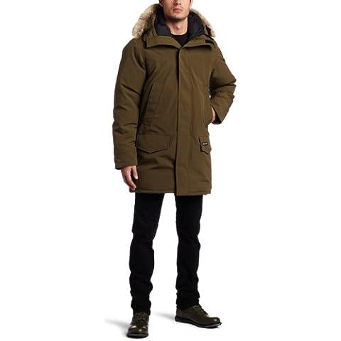 Canada Goose Langford Parka 2062M, Giacca con cappuccio Uomo, Uomo, Verde militare, M