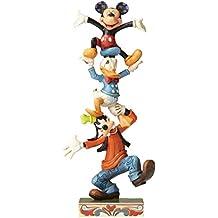 Disney Traditions–Figura decorativa de la torre teetering
