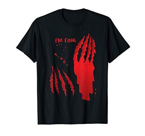 Ich bin Fein Zombie Blutige Halloween-Kostüme - Bär Kostüm Angriff