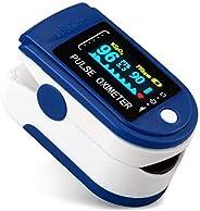 Pulsiossimetro da dito,sensore digitale di ossigeno nel sangue e pulsazioni, con allarme SPO2, per uso domesti